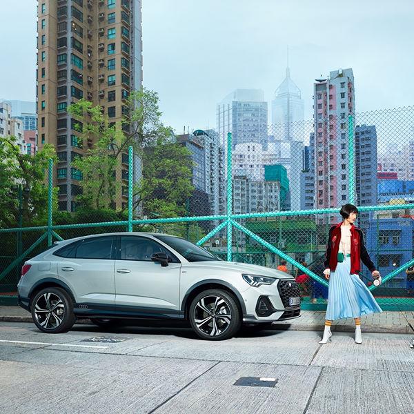 Marquez votre différence !  Avec son design expressif, la famille des SUV coupés #AUDI s'agrandit avec succès ! Le Q3 #Sportback est le véhicule idéal pour vous démarquer.  Réservez votre essai => https://t.co/G87bYJe695 https://t.co/Yf5k1I6K0p