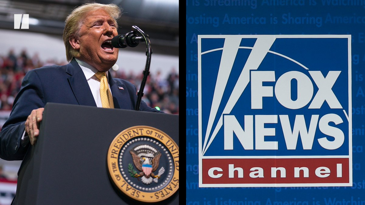 President Donald Trump went on a tirade against Fox News during a recent rally.