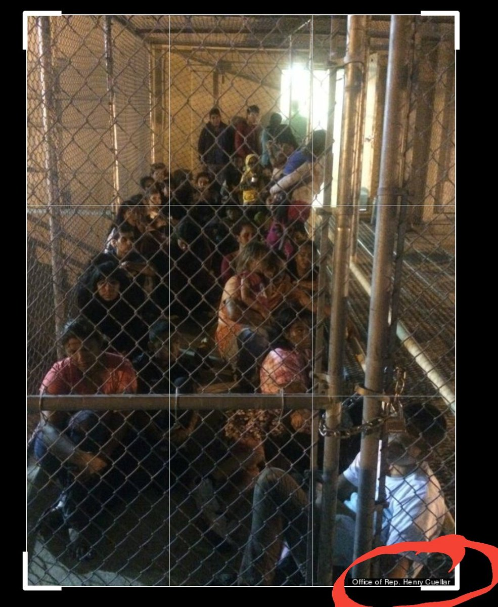 2014 Cuellar leaked these photos..... Obama did nothing to fix it... Neither did any Democrat....Guess Democrats what's he busy singing Obamas praises....pic.twitter.com/Kcv1wOsqbP