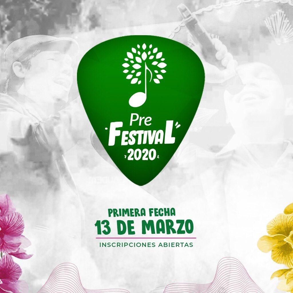 ¡Arrancamos! ¿Sos artista de la ciudad de Caaguazú o alrededores y querés formar parte de la edición 2020 del #FestivaldeTodos ? ésta es tu oportunidad! Link de inscripción para el #PreFestivalhttps://forms.gle/kxevbjJkunfRKRYn6…pic.twitter.com/5qIVYXplTO