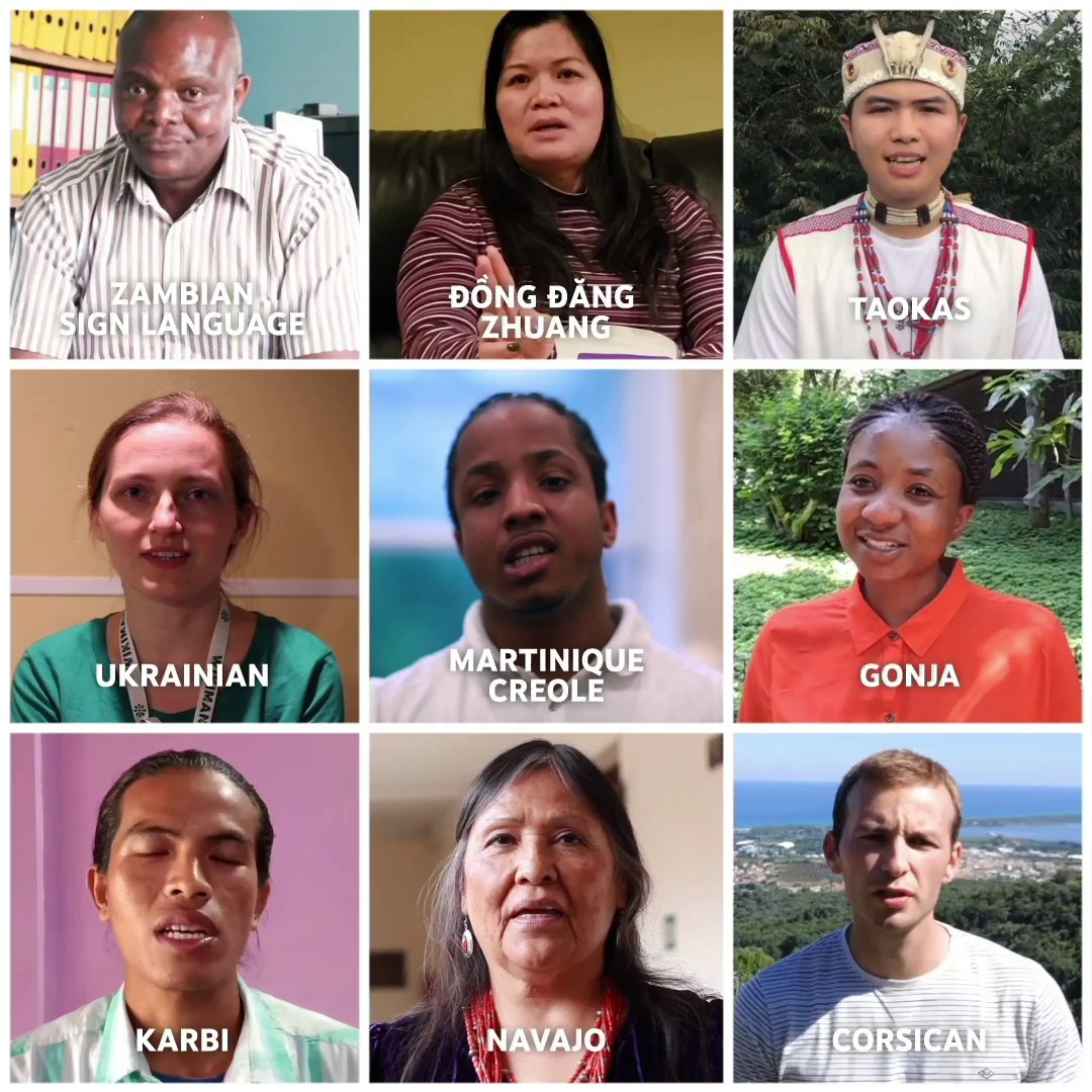 Happy Mother Language Day! Celebrate with @Wikitongues, a channel that is working to document every language in the world: https://www.youtube.com/user/WikiTongues …