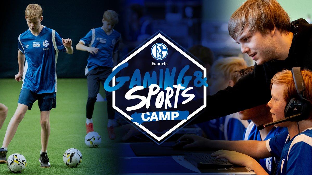 """Das """"FC Schalke 04 Gaming & Sports Camp"""" geht in die zweite Runde! 🥳  Meldet euch JETZT an! 📒  Weitere Informationen findet ihr hier: https://schalke04.de/esports/jetzt-anmelden-fc-schalke-04-gaming-and-sports-camp-vom-14-bis-zum-17-april/…  #SchalkeNullFear   #Nachwuchsförderung"""