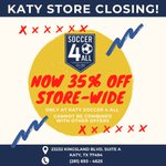 Image for the Tweet beginning: Everything is now 35% OFF