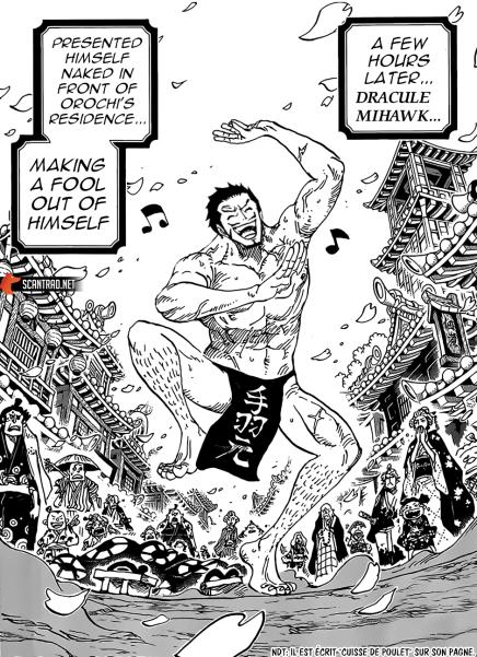 #今週のワンピ  Hi Oda and editors, op 972 was fantastic, the 1 hour of legends.   But i have a question,  did mihawk become the strongest swordsman by dancing on wano just like Oden?    <br>http://pic.twitter.com/mmBEwNZtsb