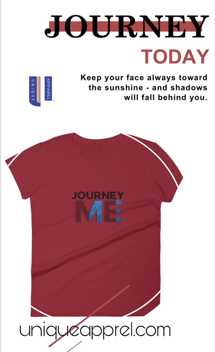 The Journey allows #selfreflection & #renewal. Pay attention to #happenstance   Shop @ http://uniqueapprel.com #uniqueapparel #newbrand #online #shopping #tshirts #bloggerstyle #journey #selfdiscovery #selfempowernent #selflove #changepic.twitter.com/7WngVDUeBF