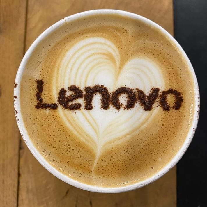 RT @Lenovo: Anyone else having a dash of Lenovo with their morning coffee? (📸: Meriem Zraidi) https://t.co/2Ig7acG8ro