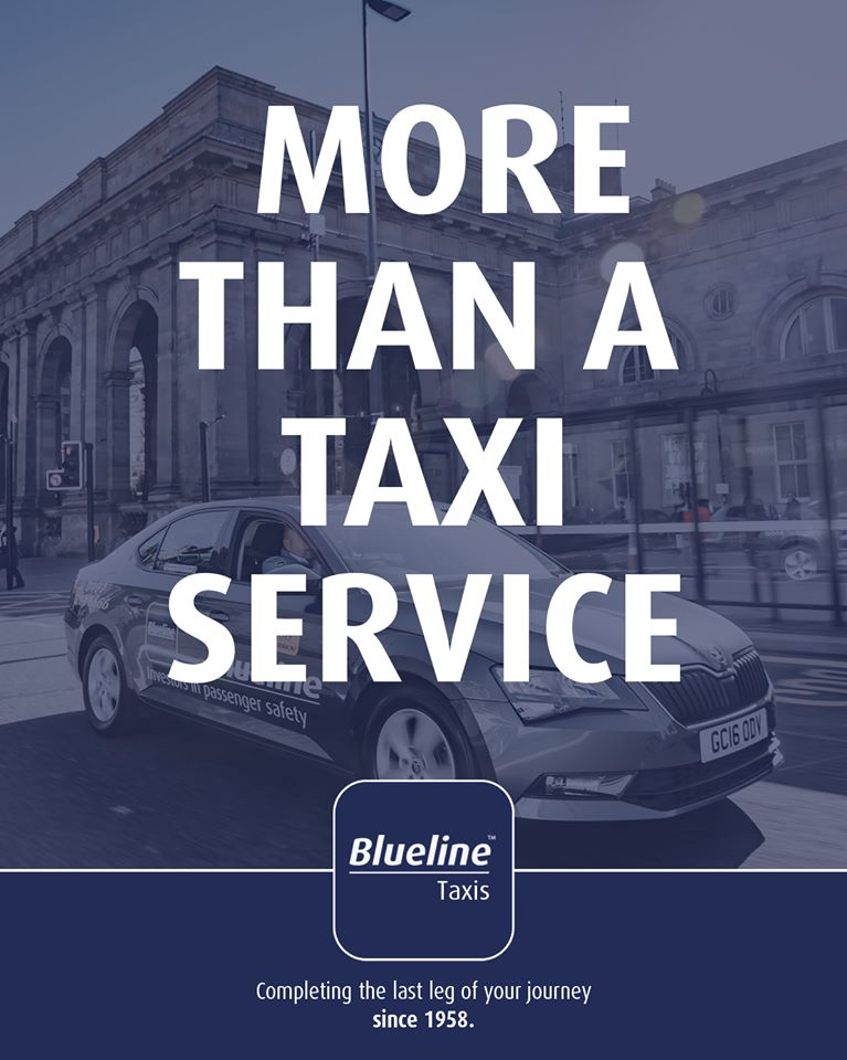 Proud investors in passenger safety for over 60 years.  Blueline Taxis - More Than A Taxi Service. pic.twitter.com/BpjrPT6aNz