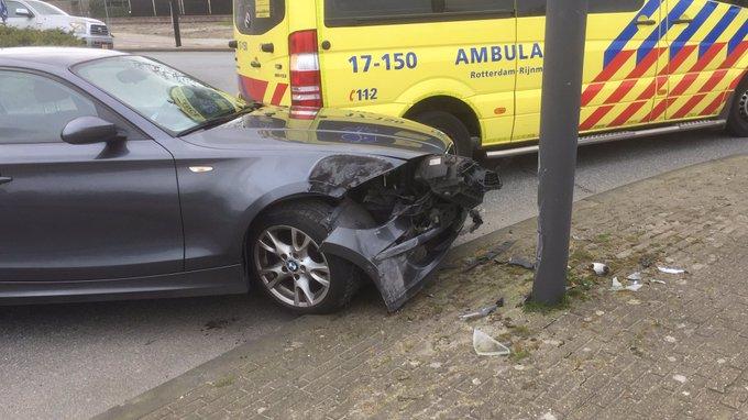 Ongeluk aan de Westlandseweg Maasluiszorgt voor enige vertraging ter plaatse https://t.co/nr0hW6m9JH