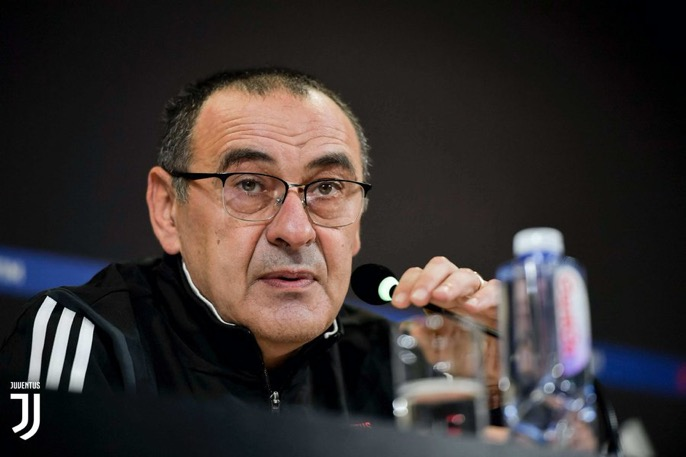 «Ferrara no es un campo fácil». Las palabras 🗣🎙 de Mister #Sarri en la víspera del #SPALJuve    ➡️ http://juve.it/dr0Y30qjBq8