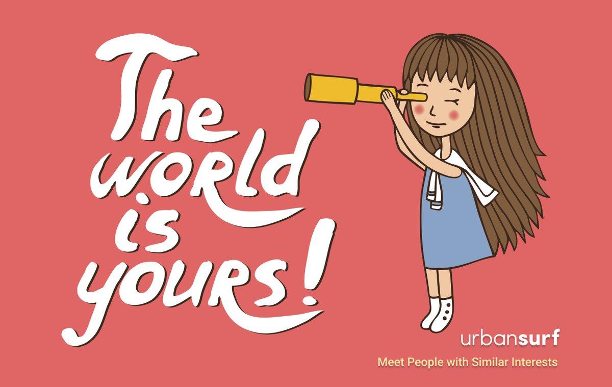 The World is yours!  ◇ #travellingtheworld #travelgirl #expatgirl #digitalnomadgirls #instagirl #instagirls #girl #girls #urbansurf #sologirltravel #traveltheglobe #aroundtheglobe #livetotravel #travellerslife #solotraveller #solotrip