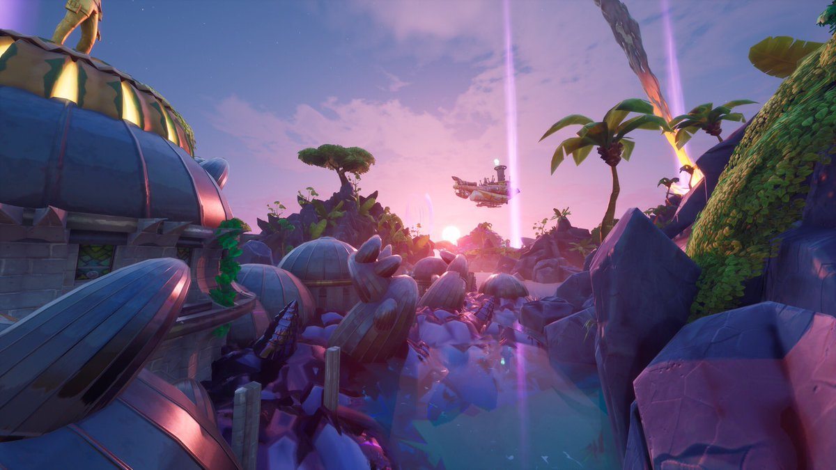 Stranded two: Dogfight Royale is complete! It's a fast paced 4v4 dogfight set in a tropical sea spotted with beautiful, but dangerous islands. Go try it out! [7761-2401-7139] minimum two players. @FNCreate @Flak @ZooKeeperZak #fortnite #FortniteCreative #fortnitephotographypic.twitter.com/Hzpdzb4U5q