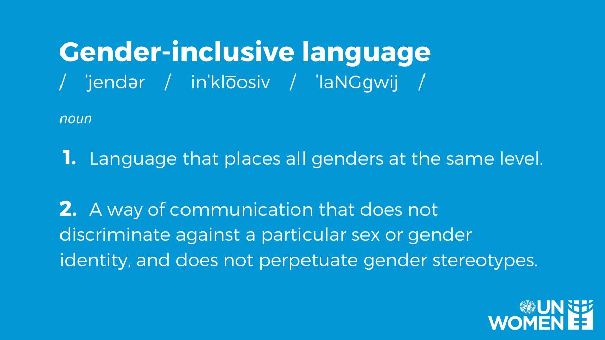 ❌mankind ✔️humankind ❌congressman ✔️legislator ❌businessman ✔️businessperson ❌policeman ✔️police officer ❌boyfriend/girlfriend ✔️partner ❌#MotherLanguageDay ✔️Native Language Day Use your words to fight gender bias with gender-neutral language!