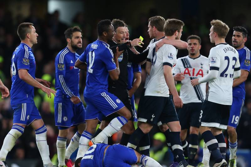 😱 A look at the stats from the infamous 'Battle of the Bridge'  - Goals: 4  - Shots: 29  - Fouls: 29  - Cards: 12  - Booking Points: 120  #CHETOT