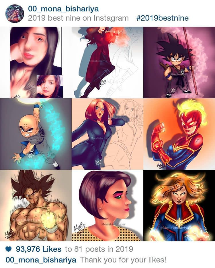 Thank you guys so much for this incredible, crazy year!  I'm so grateful to everyone who's supported my freelance career , I feel like I've learned a lot and grown so much as an artist! I'm excited to see what 2020 brings! #topnine2019 #topnine #top9 #artist #digitalartpic.twitter.com/YiIUohWtw5