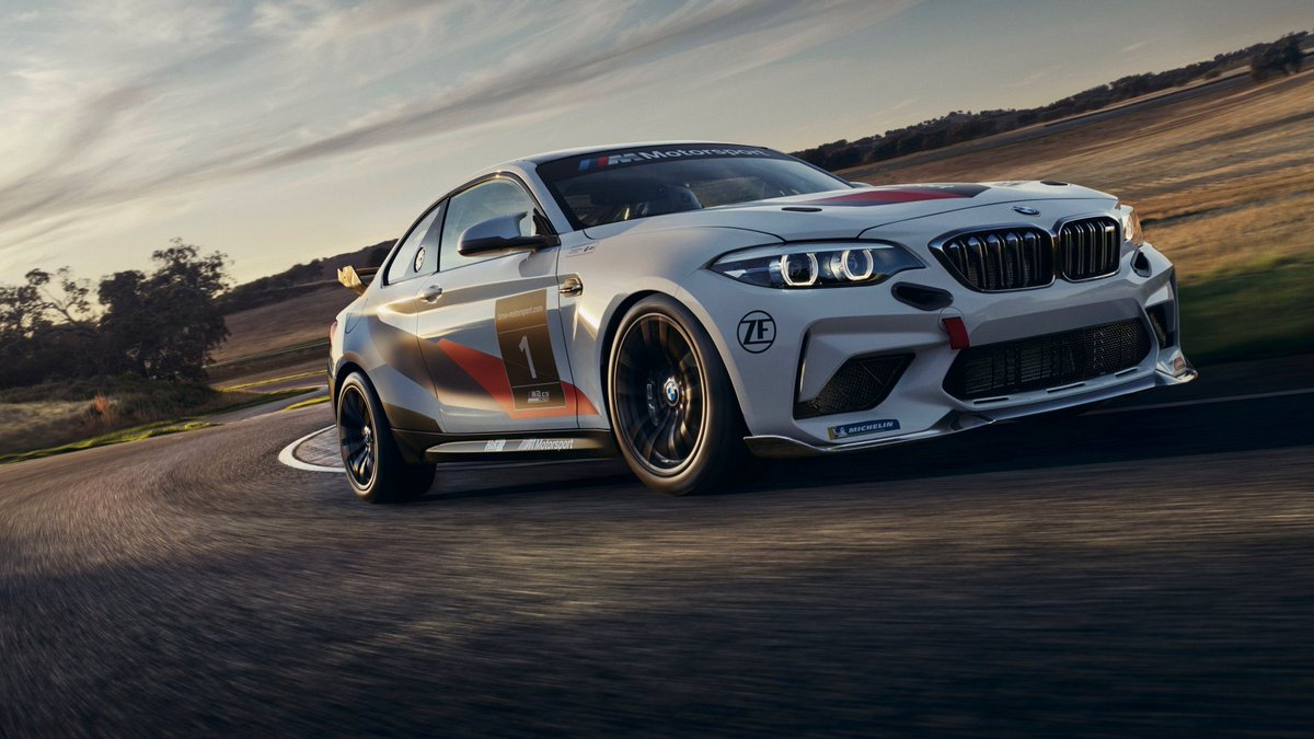 📸 Check out the all-new BMW M2 CS Racing!   This is the car that me, Max and Neil will be tackling the Nürburgring in first, before we progress to the M4 GT4 and then the M6 GT3 😀  #BMWMMotorsport #BMWJuniorTeam