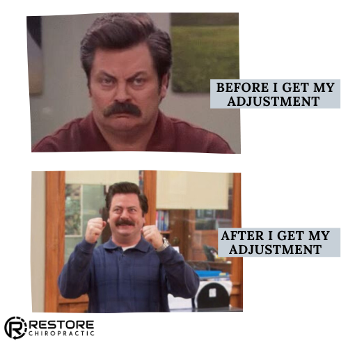 Ron Swanson was once a skeptic...but then he met a specific, neurologically based chiropractor who changed his world. (Just kidding.  )   #ronswanson #parksandrec #chiropractic #chiropractor #chiropracticmemes #trt #torquereleasetechnique #adustment #meme #restore #doctormemes pic.twitter.com/F2fw7bvwMk
