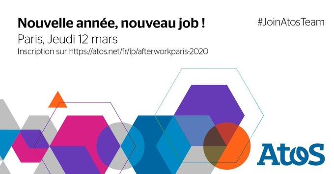 Vous avez pris la résolution de changer de #job en 2020 ? 🤗 Venez...