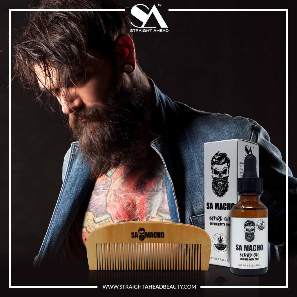 After applying your #BeardOil with your hands, use a comb to evenly distribute it and to brush out and shape your beard.   #samacho #beardoil #beardbalm #beardwax #beardgang #beardproducts #bearded #beardies #new #newproduct #haircare #hair #menshaircare #menshairpic.twitter.com/kxhigv4Y4O