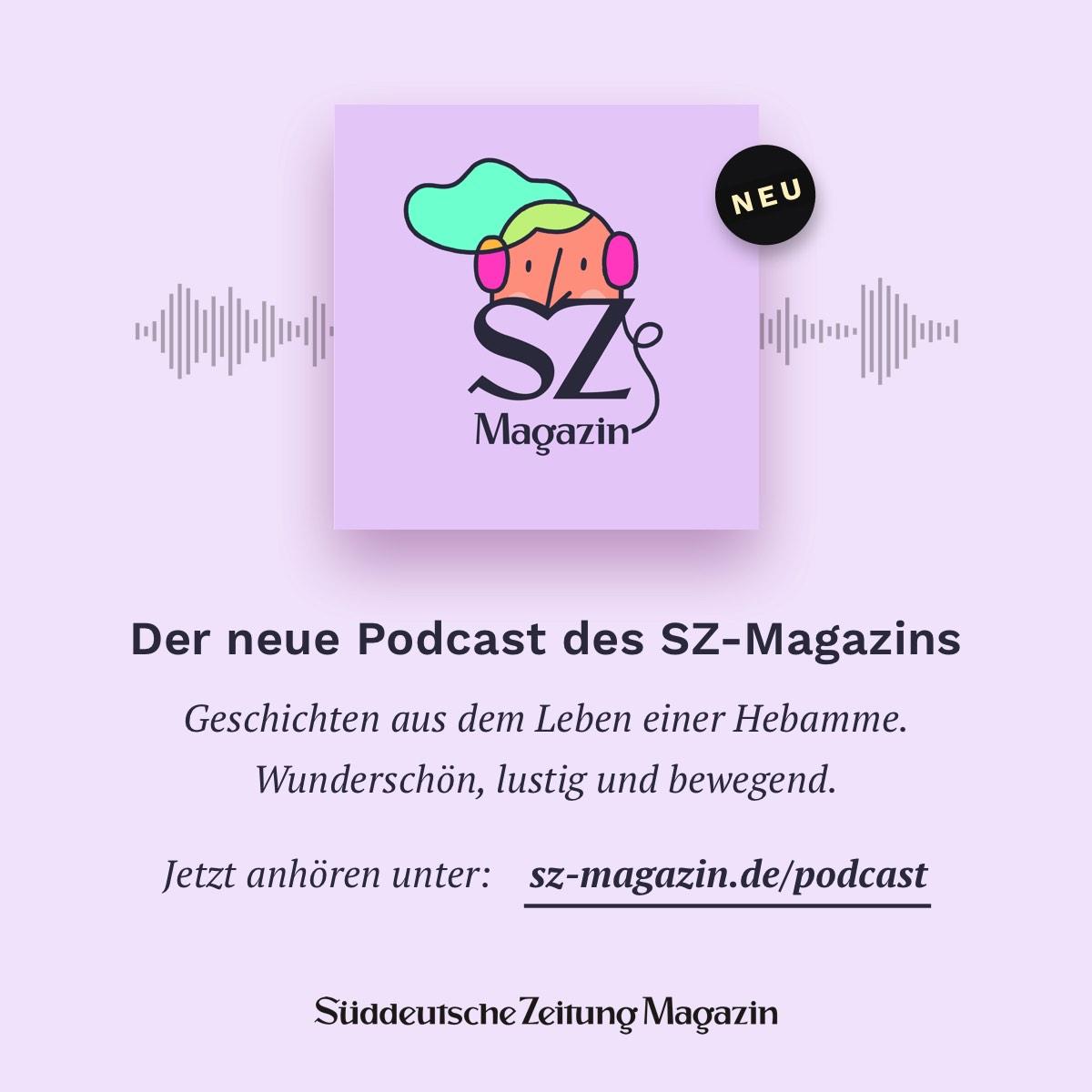 Wie eine scheinbar harmlose Geburt zum nie dagewesenen Notfall wird, erzählt Hebamme Maja Böhler in der neuen Folge unseres Podcasts. Jetzt anhören unter http://www.sz-magazin.de/podcast oder bei iTunes, Spotify, Deezer und Pocket-Cast.pic.twitter.com/yoTnnmoQeR