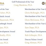Image for the Tweet beginning: Congratulations to the @TriStatePGA 2020