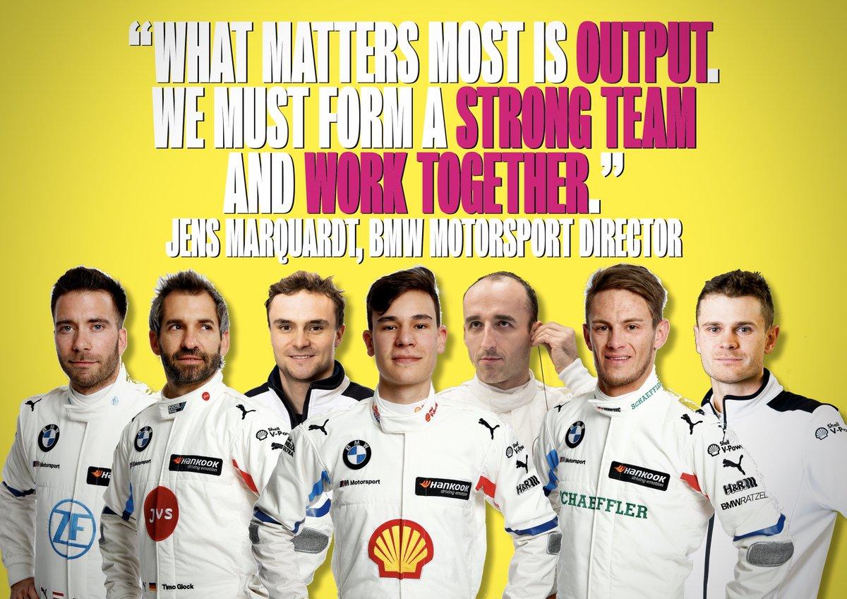 BMW Motorsport has allocated its seven drivers to its four #DTM 'teams' for the 2020 season.   Full details ➡️ http://dtm4.me/bLVvbc  #DTM2020 🏆