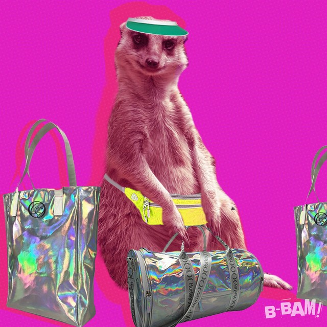When you have cool custom-logo luggage, the airport becomes your runway #bbaminals #customlogotravelgear #maximalism #fashionfirst #travel 
