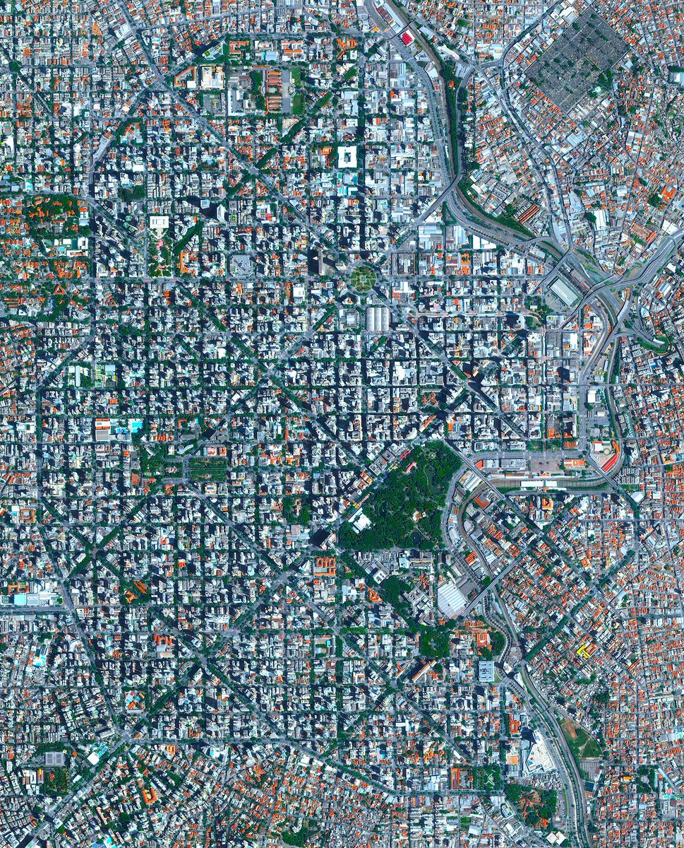 Belo Horizonte is the sixth largest city in Brazil with a population of roughly 2.5 million people. The city was constructed at...See more here:  /// #aerialphotography #earth #picoftheday #dailyoverview #belohorizonte #brazil #southamerica #cities #travel