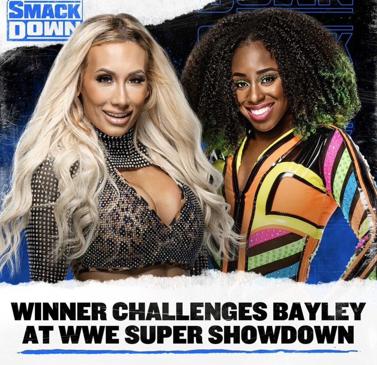 Bayley will make the winner look like a clown at #Showdown  #SmackDownOnFox <br>http://pic.twitter.com/rMNXDrJK1r