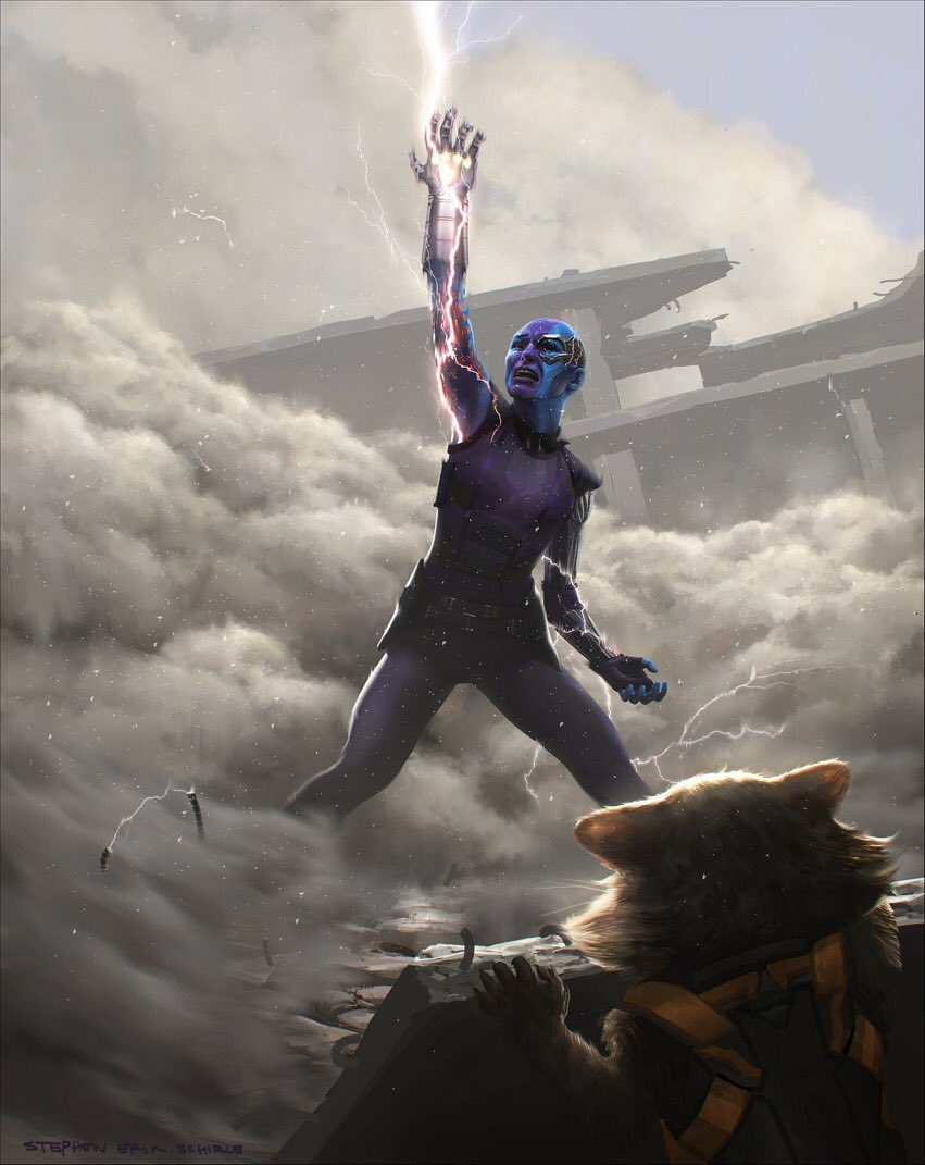Some concept art from #Avengers  #InfinityWar  and #Endgame  😍
