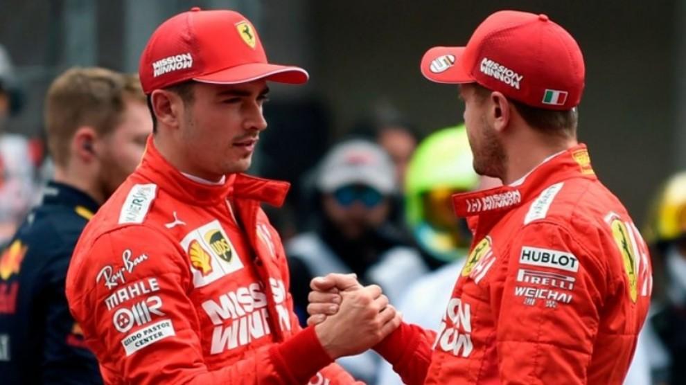Ci sono due tipi di tifosi Ferrari. Quelli che ora stanno già buttando merda sulla rossa e ne dicono di ogni.   E poi ci siamo noi, che amiamo questi due e sappiamo cosa sono in grado di fare.  Tutto il resto è chiacchiera.   #F1Testing #F1 #Ferrari #Vettel #leclerc