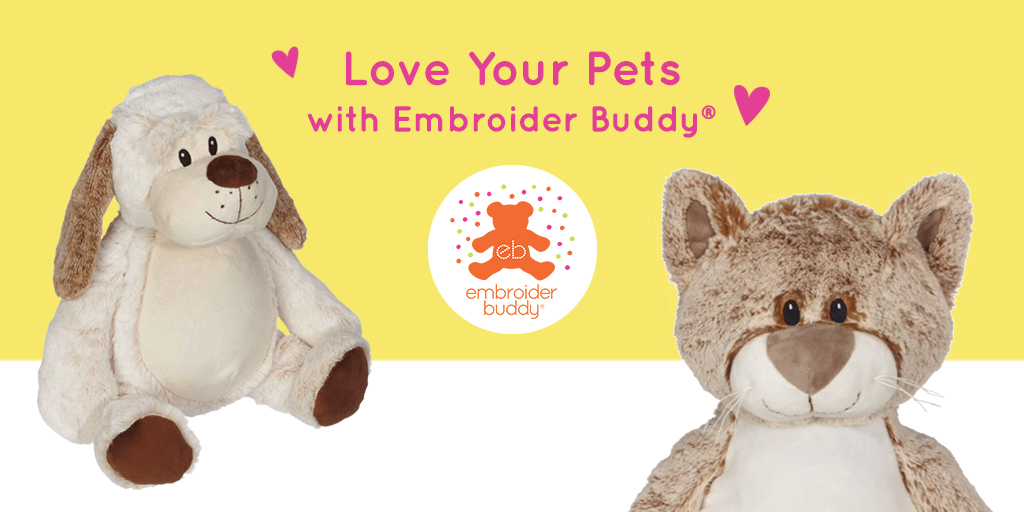 In celebration of #LoveYourPetsDay, show your special fuzzy friends how much you love them! Check out this week's Loose Threads blog and get to know some of our favourites embroider pets.https://bit.ly/2SLocZE pic.twitter.com/oHBtusKi5p