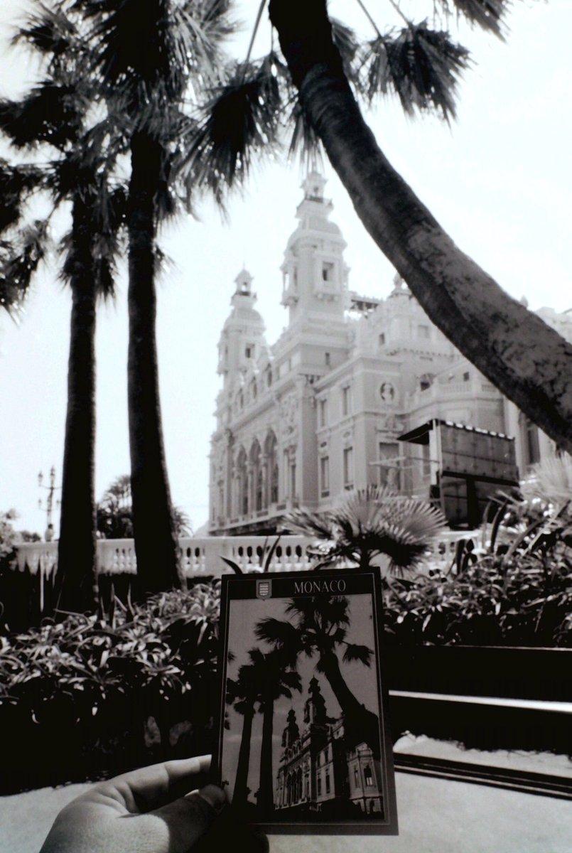 #Postcards #revisited 3. #Monaco #summer 1995.  #Mediterrane #photo #MonteCarlo #casino #Garnier #photographer #photography #blackandwhitephotography #art #happy #great #streetphotography #photojournalism #decisivemoment