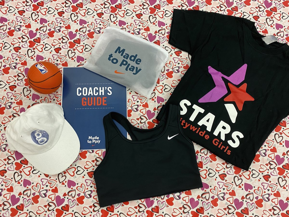 Thank you so much to @Nike @NikeNYC for sending us sports bras in preparation for our upcoming #SelfCareSaturday event with #STARSCGI! 🌟 #STARSSelfCare #positiveyouthdevelopment #femaleempowerment #madetoplay https://t.co/gjPm5PMdzn