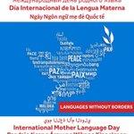 Image for the Tweet beginning: Today is #InternationalMotherLanguageDay @WindsorPolice celebrating