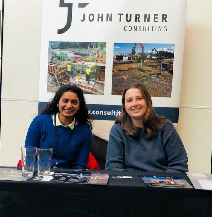 We are at @UMassAmherst's career fair today. Come chat with Shalini and Darlene about working at JTC! #jtc #careers #engineering #building #construction #jobs #helpwanted #applytoday
