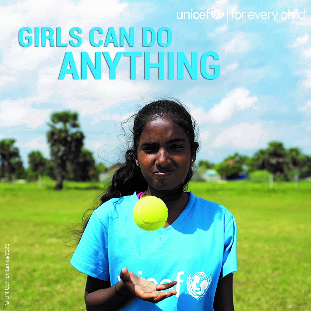When girls do better, we all do better. I'm proud that  @UNICEF  has partnered with @ICC  Women's @T20WorldCup  to empower girls in Sri Lanka through cricket. Help us level the playing field, for every girl. Visit  https://help.unicef.org/cricket