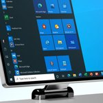 Image for the Tweet beginning: Windows 10's new icons are