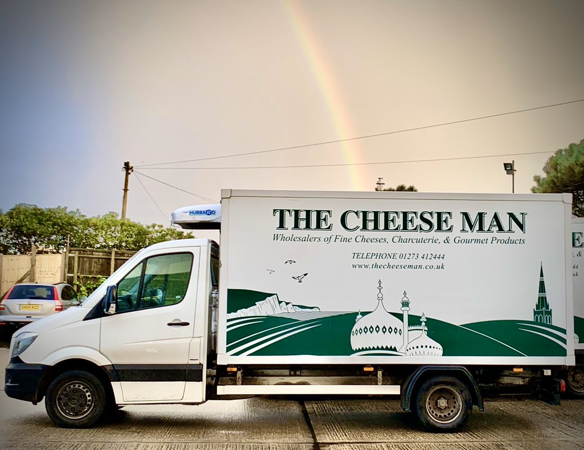 There's not always #gold at the end of the #rainbow #cheese #vansales #localsupplier #sussexpic.twitter.com/OrkrWvhaTT – at The Cheese Man