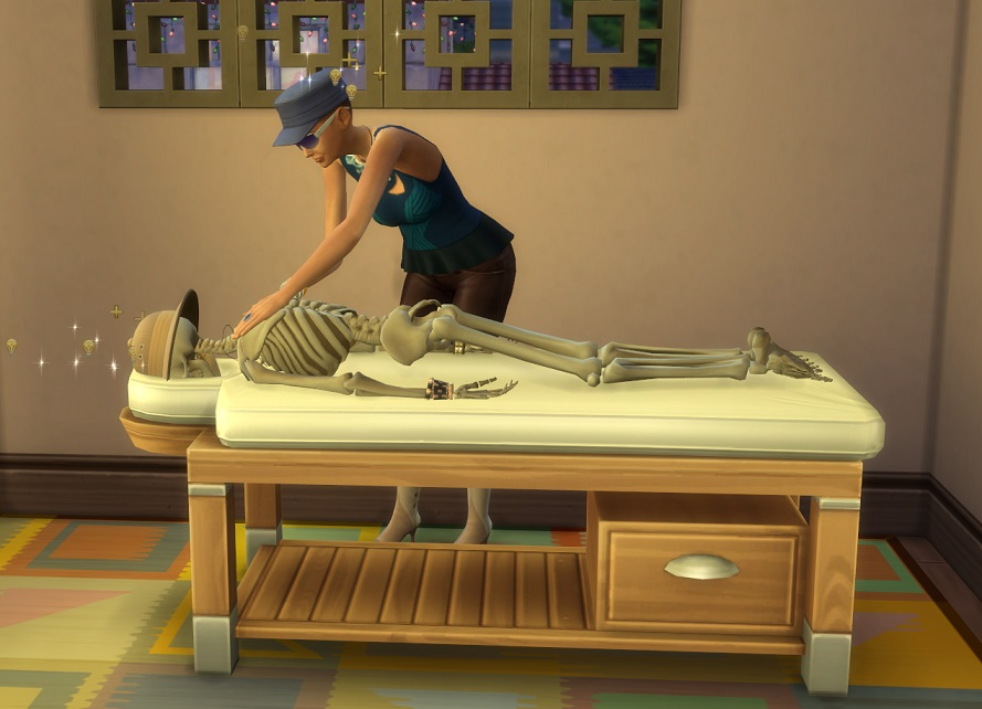 Verspannte Muskulatur - äh wie bitte?  #TheSims4 #ts4jungleadventure #dieSims #Sims4 #ShowUsYourSimspic.twitter.com/pZrtBkWSHP