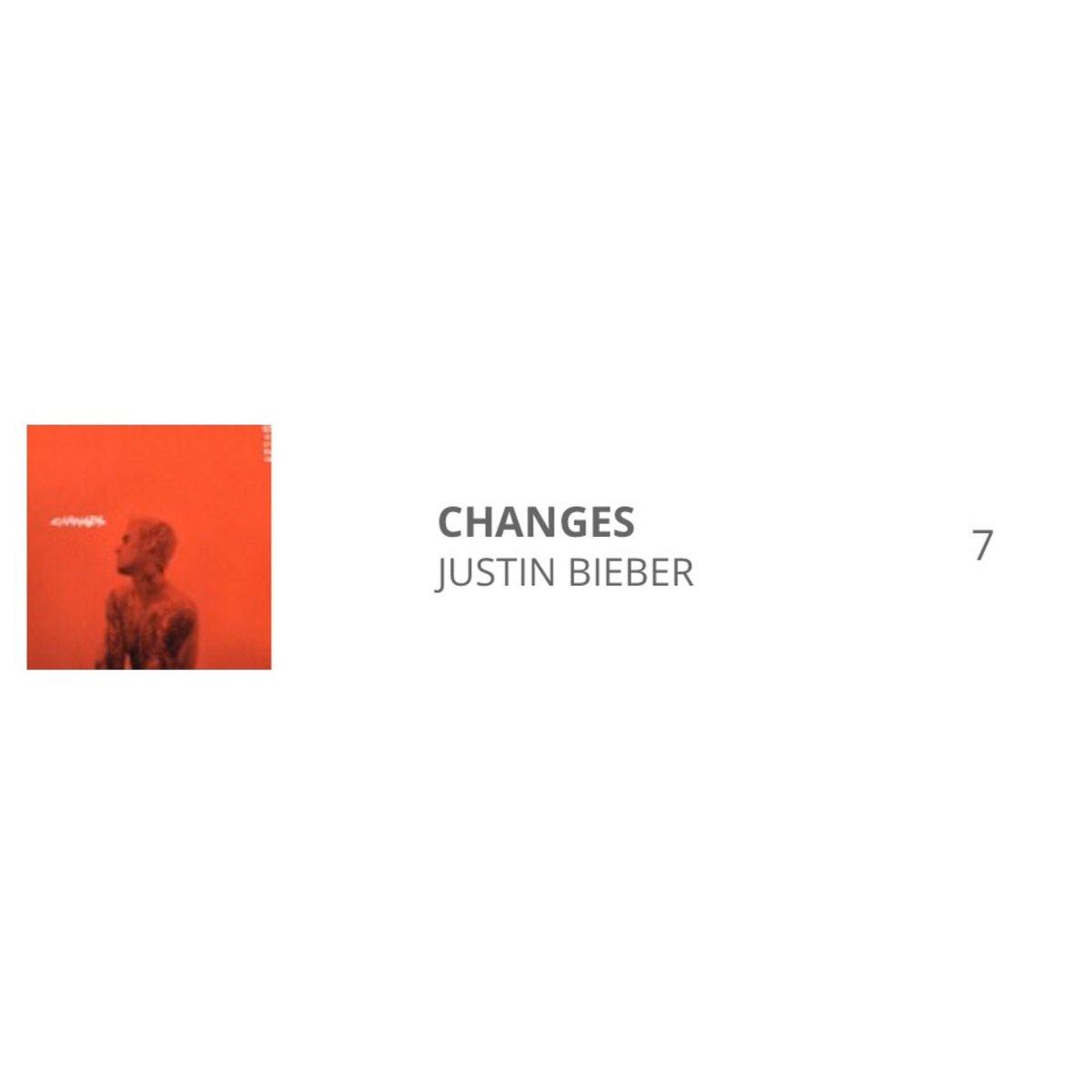 #Changes ha debuttato alla 7º posizione nella classifica italiana degli album più venduti della settimana.