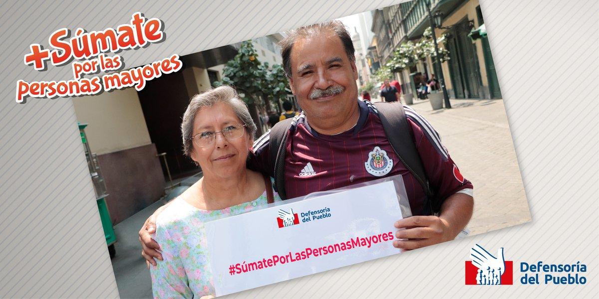 #SúmatePorLasPersonasMayores y ✍️ firma la petición 👉🏾 https://t.co/ifWOkZ2Glr para pedir al nuevo Congreso de la República la aprobación de la Convención Interamericana sobre la Protección de los Derechos Humanos de Personas Mayores. Apoya esta iniciativa de la @Defensoria_Peru
