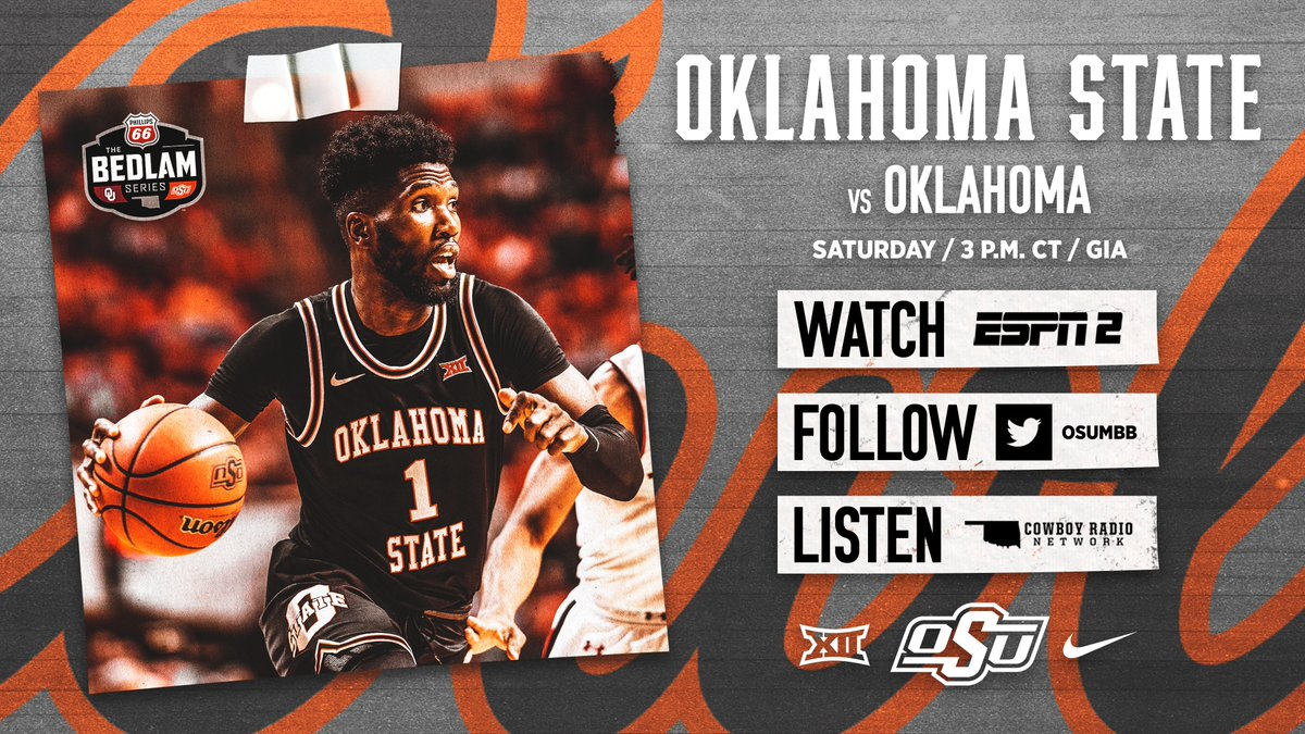 One of college basketball's 20 longest-standing rivalries will see its 240th installment tomorrow. Prepare for Bedlam.   https://okla.st/2V8LWIH   #LetsWork I #GoPokespic.twitter.com/0ovXcHmJbz