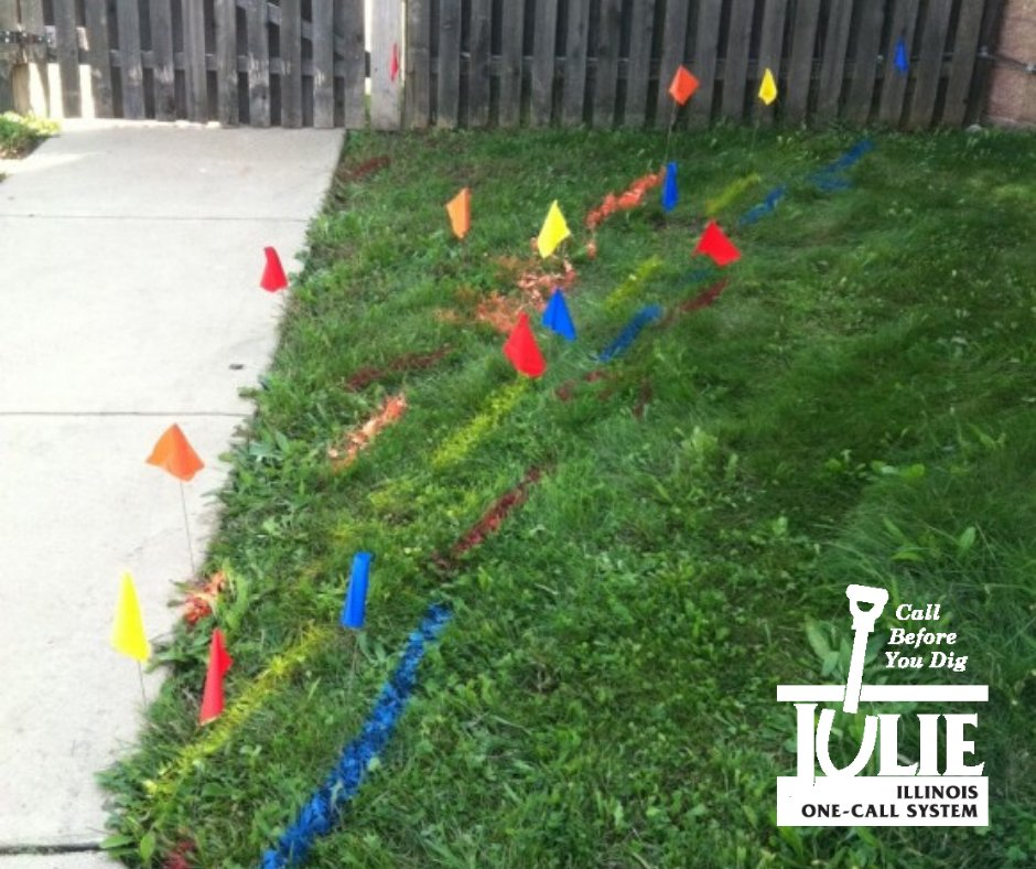 Do you know what these flags mean? After you #Call811, our member utilities use specific colors to…