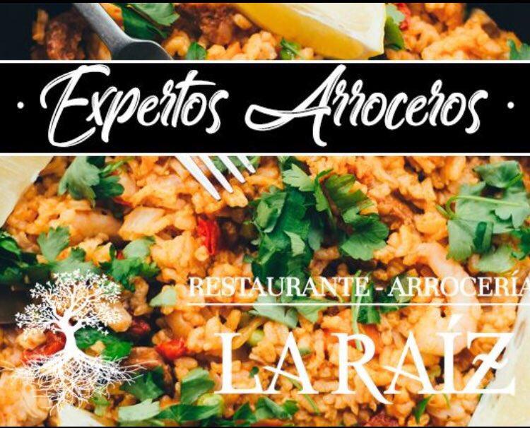 """#GoValladolid #restaurantes #laraiz riquísimos #arroces. Recordad el hacer vuestra reserva para arroces por encargo min 3 personas #ARROZ """"LA RAIZ"""" todo pelado: calamar, sepia, merluza, chipirón, gambones, bacalao, langostino 13.00 euros Y muchas +opciones que te iremos contando"""