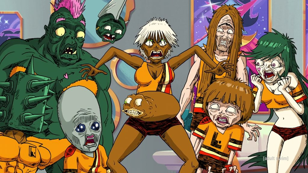 With a new season comes new bodily growths. #Ballmastrz returns on Sunday at midnight on #adultswim