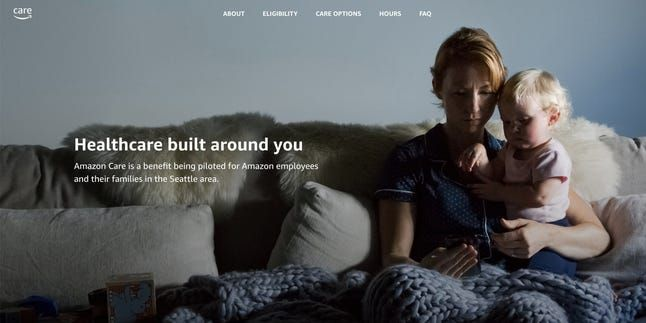 Amazon's telehealth service, Amazon Care is one step closer to a public launch: https://emrktr.co/39Zh5Tj