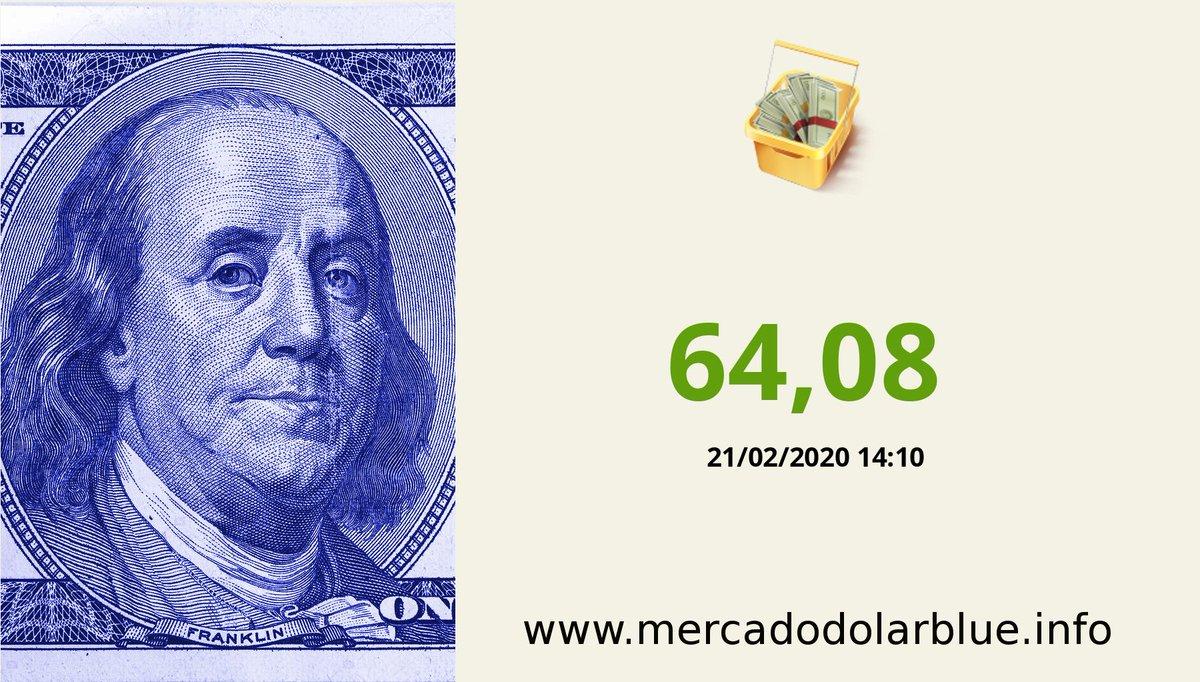 #Blue #DolarParalelo #Argentina  #DolarOficial: 64,08 #DolarBlue: 78,80 #EuroBlue: 85,11 #DolarEuro: 1,0801