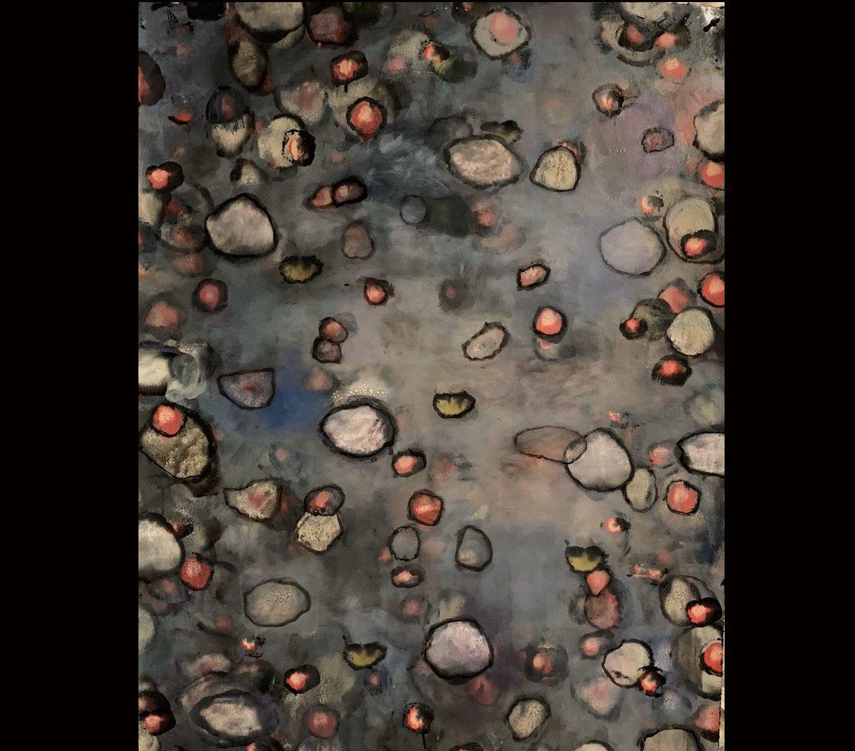 "'Without a Doubt' 42""x 30"", #acrylic on paper #acrylicpainting #pintura #acrilico #pittura #peinture #malerei #abstractart #arteabstracto #abstraktekunst #abstractpainting #oaklandartist #galleryart… pic.twitter.com/aIQXQ2PcXD"