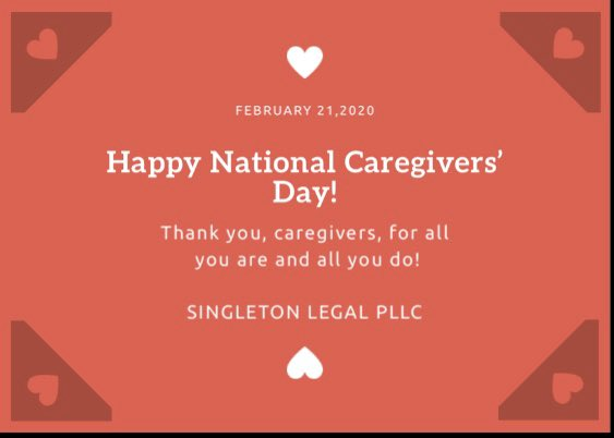 Hug a #caregiver today and every day!
