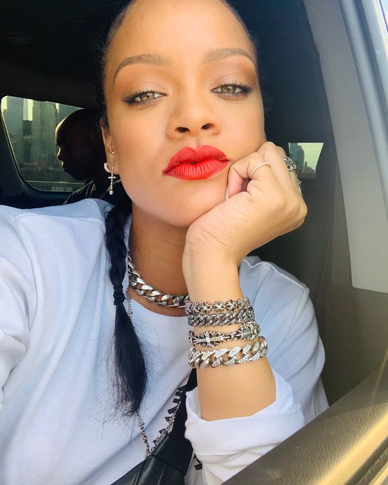To wish your favorite, RIHANNA, A Happy Belated Birthday!